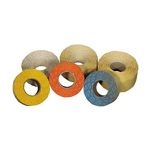 Árazószalag FORTUNA 25x12mm perforált fehér 10 tekercs/csomag
