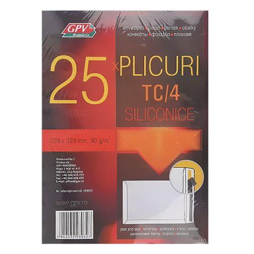 Boríték GPV TC/4 szilikonos bélésnyomott 229x324mm 25 db/csomag