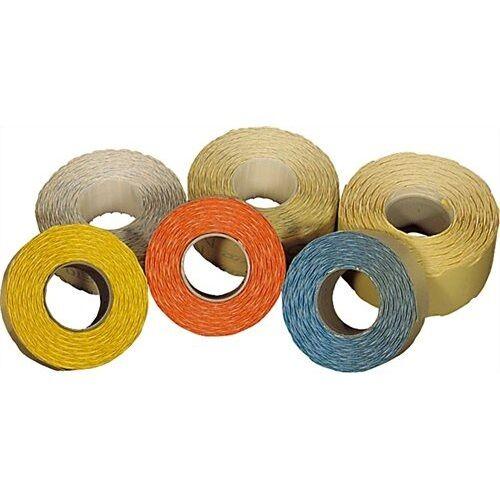Árazószalag FORTUNA 26x12mm perforált fehér 10 tekercs/csomag